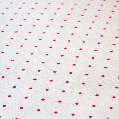 Children's Cotton Bed Sheet - Pink Spots
