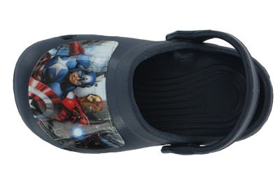 Boys Avengers Blue Slip On Beach Sandals Clogs Mules UK Size 7