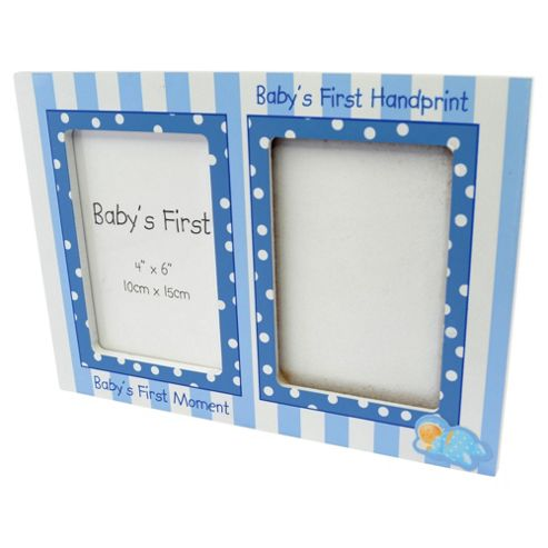 Baby Boys First Hand Print & Frame Set