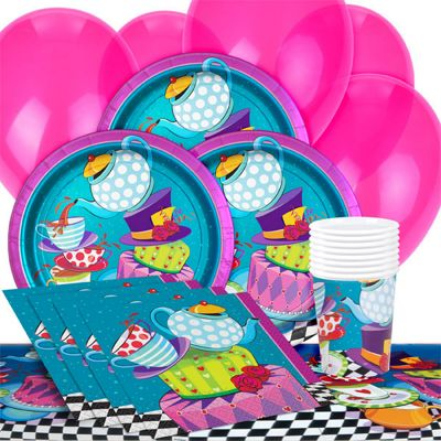 Mad Hatter Party Pack - Value Party for 8