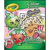 Crayola Colour & Sticker Shopkins
