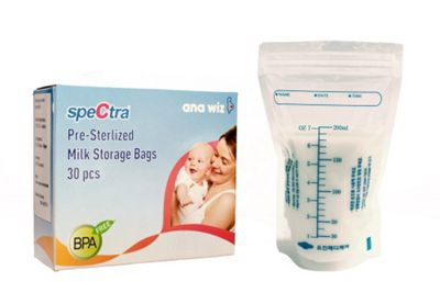 Spectra Pre-Sterilized Milk Storage Bags Pack of 30