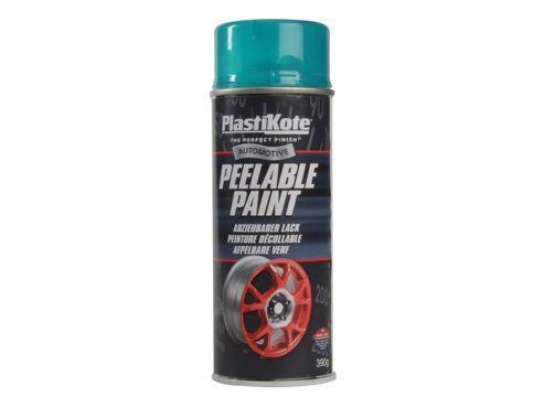 Plasti-kote Peelable Paint Transparent Blue 400ml