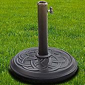 Nova - Patterned 12kg Concrete Garden Parasol Base