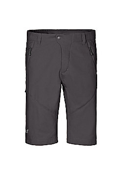 Jack Wolfskin Mens Active Track Shorts - Grey