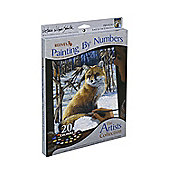 Reeves Artists Collection Medium Paint by Numbers Edge of Cornfield - Art Store