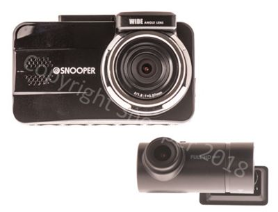 New Snooper DVR-5HD Dual GPS Dash Cam with speed camera alerts
