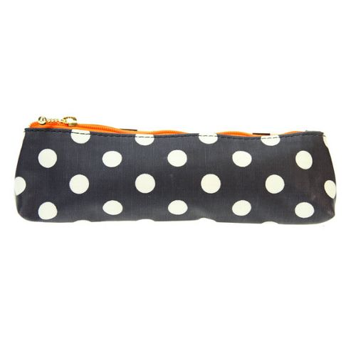 Marks Dot Pencil Pouch - Navy