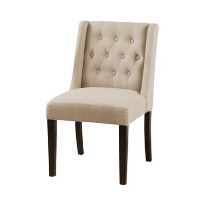 Huxley Beige Wing Dining Chair