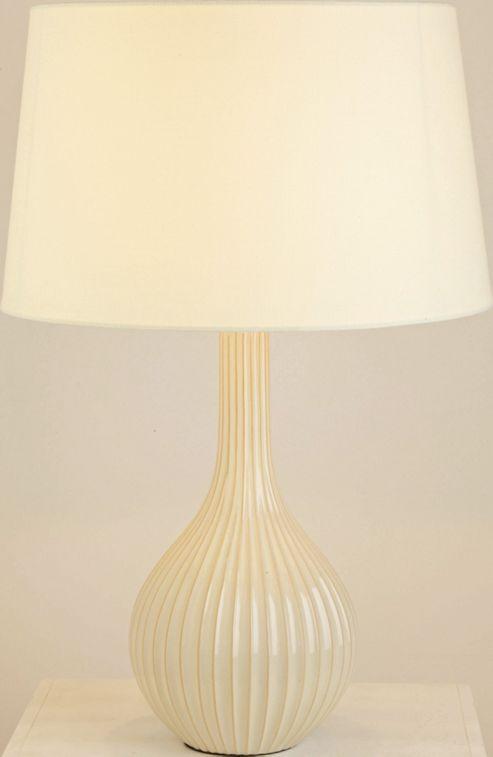 The Lighting & Interiors Group Scallion Table Lamp - Cream