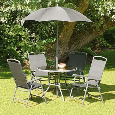 Buy Black Havana 92cm 4 Seat Garden And Patio Set From Our