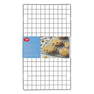 Tala Cake Cooling Tray, Non-Stick, Chrome Plated (Silver)