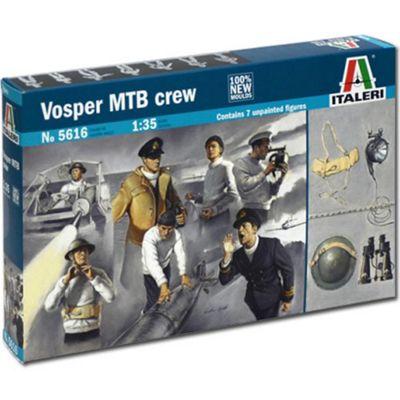 Italeri Vosper Mtb Crew Figures 5616 1:35 Figures