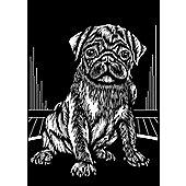 Reeves Scraperfoil - Silver Pug - Art Store