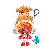 DreamWorks Trolls Mega Soft Toy Keychain - Dj Suki