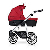 Venicci Soft 3 in 1 Travel System - Denim Red/White