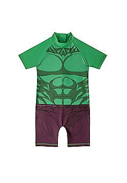 Marvel Comics Boys Surf Suit - Green