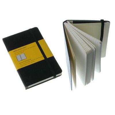 Moleskine Classic Pocket Squared Notebook