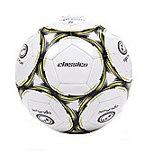 Optimum Classico Football Soccer Ball White/ Fluro - 4