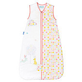 Grobag Baby Sleeping Bag - Blossom Bunny 1.0 tog (6-18 months)