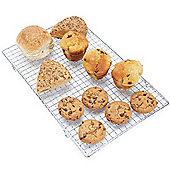 Andrew James Cooling Rack - Rectangular Oven Safe Wire Tray 40cm x 25cm