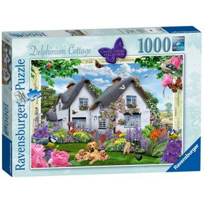 Country Cottage - Delphinium Cottage Puzzle