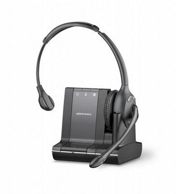 Plantronics Savi W710 Wireless DECT Mono Earset - Over-the-head - Semi-open