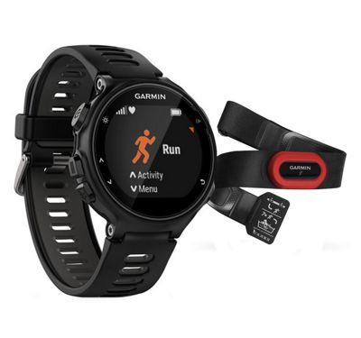Garmin Forerunner 735XT Black/Grey Run Bundle