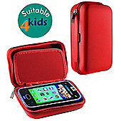 Navitech Red Premium Travel Hard Carry Case Cover Sleeve For The VTech KidiCom Max