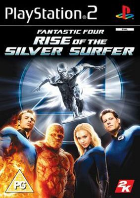Fantastic Four - Rise of The Silver Surfer - PS2