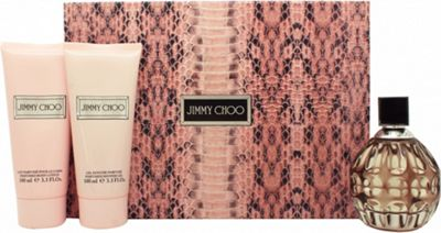 Jimmy Choo Gift Set 100ml EDP + 100ml Body Lotion + 100ml Shower Gel For Women