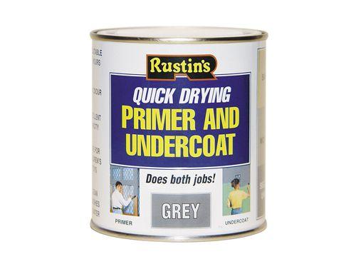 Rustins Quick Dry Primer & Undercoat Grey 2.5 Litre