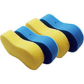 Large Blue and Yellow Multipurpose Car/Household Cleaning Sponge- Pack of 4