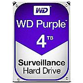 """WD Purple Surveillance 4TB SATA III 3.5"""" Hard Drive - 5400RPMrpm, 64MB Cache"""