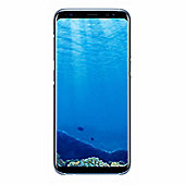Samsung Galaxy S8 Clear Cover - Blue