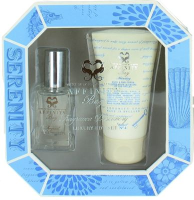 Affinity Bay Luxury Fragrance Set 15ml Eau de Toilette & Hand Cream 50ml Serenity Spa