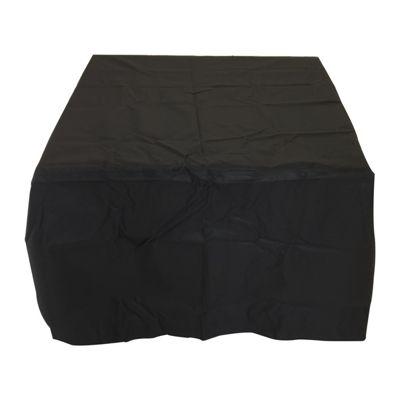 Charles Bentley Black 6 Seater Waterproof Cube Furniture Set Cover