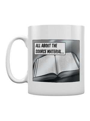 All About The Source Material Book Lovers 10oz White Mug