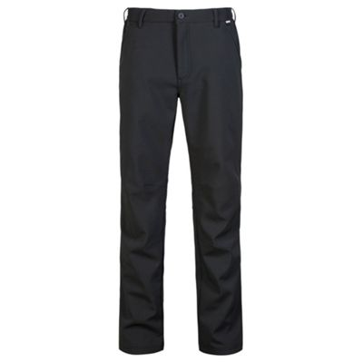 Regatta Fenton Softshell Trousers 42 Waist regular leg Black