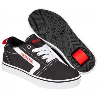 Heelys GR8 Pro Black/Red/White Kids Heely Shoe JNR 12