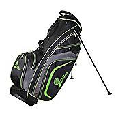 Palm Springs Golf Tour Premium Stand Bag Black/Green