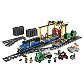 LEGO City Remote Control Cargo Train, Station, Tracks and Power Functions 4 in 1 Super Pack 66493
