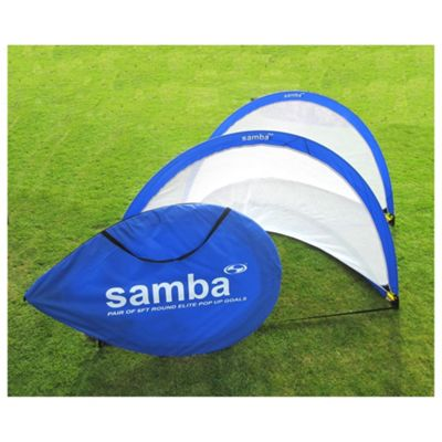 Samba 4ft Pop-Up Football Goals x2