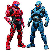 HALO Mjolnir Mark V and Mark VI Deluxe Two-Pack ArtFX+ Statue