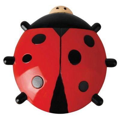 Fallen Fruits Ladybird Window Thermometer