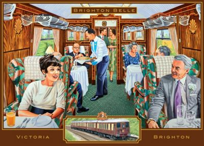 The Brighton Belle - 1000pc Puzzle