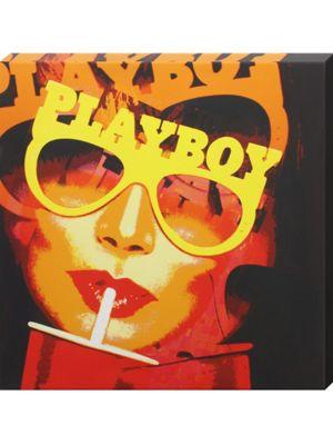 Vintage Playboy Canvas Print