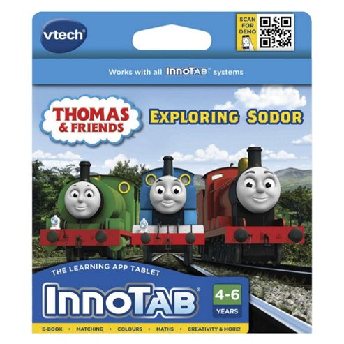 VTech InnoTab Learning Cartridge  Thomas & Friends