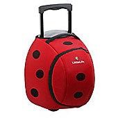 LittleLife Wheelie Kids' Duffle Bag, Ladybird