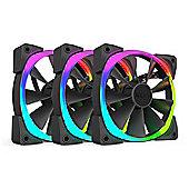 NZXT 140mm Aer RGB Premium Digital LED PWM Triple Pack Fan